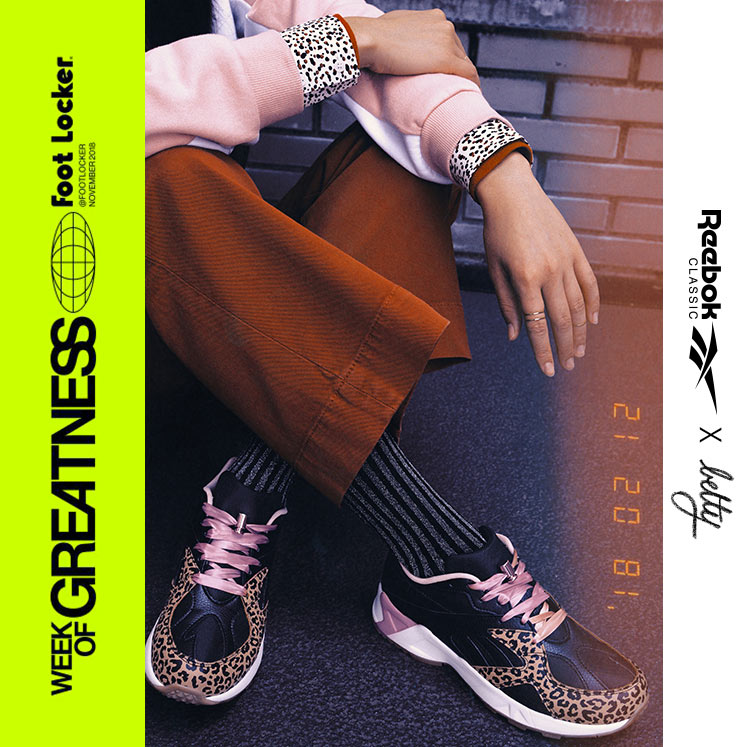 5688de9ab0b Influencer Betty Autier worked with Reebok Classics to bring her own chic  editions of the Aztrek